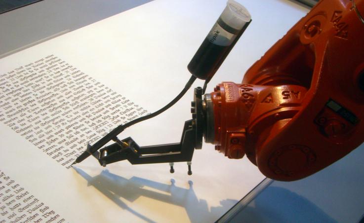 robot poeta