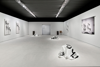 Kim Gordon. Design Office: Noise Name Paintings and Sculptures of Rock Bands That Are Broken Up